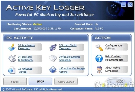 Actual keylogger 2 4 cnet